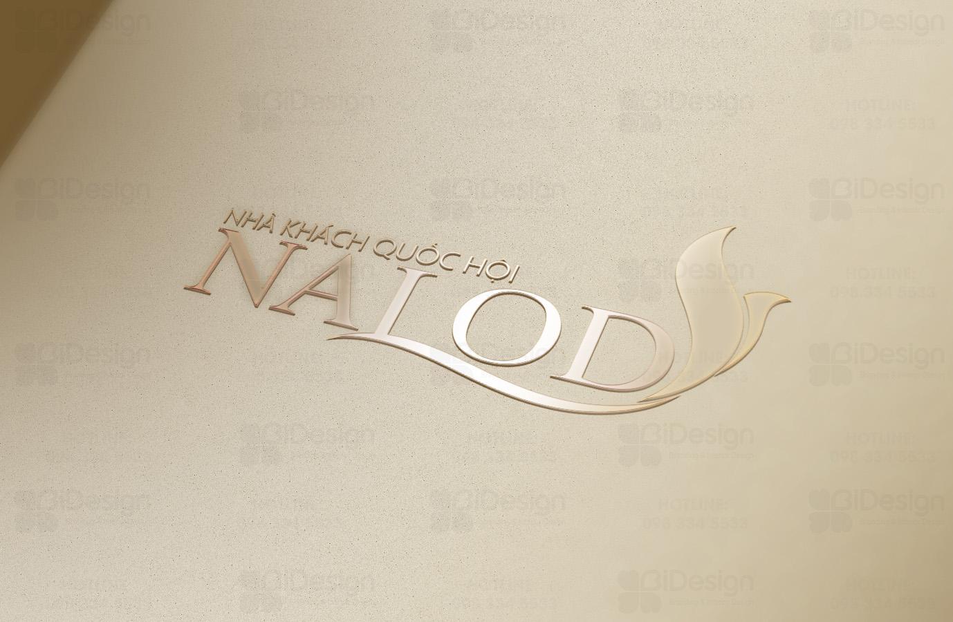 thiết kế logo Nalod